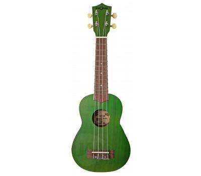 FZONE  FZU003 Green Укулеле сопрано