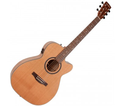 SIMON & PATRICK S&P 040469 - CW GT Concert Hall Cedar EQ with BAG Акустическая гитара