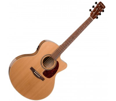 SIMON & PATRICK S&P 033751 - CW GT Mini Jumbo Cedar EQ with BAG Акустическая гитара