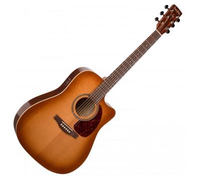 SIMON & PATRICK S&P 033775 - CW GT Vintage Burst Cedar EQ with Bag Акустическая гитара