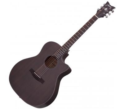 SCHECTER ORLEANS STUDIO AC SSTBLK Акустическая гитара с датчиком