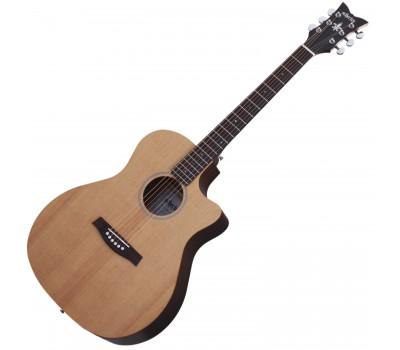 SCHECTER DELUXE ACOUSTIC NS Акустическая гитара