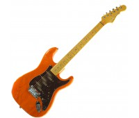 G&L COMANCHE (Clear Orange, maple, 3-ply Tortoise Shell). №CLF51196