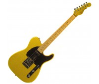 G&L ASAT CLASSIC (Yukon Gold, maple, 1-ply Black). №CLF067623