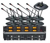 Беспроводная конференционная микрофонная система Emiter-S TA-708