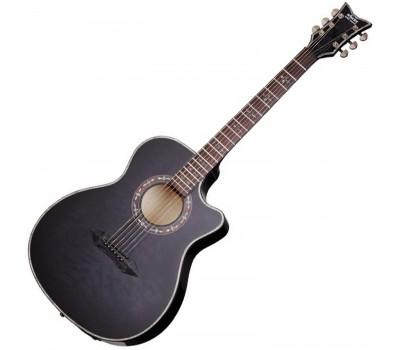 SCHECTER HELLRAISER STUDIO AC STBLK Акустическая гитара с датчиком