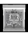 ERNIE BALL P02406 Струны для классической гитары 28-42 Classical Black & Silver Nylon