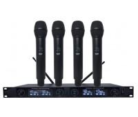 Беспроводная микрофонная система Emiter-S TA-992 с ручными микрофонами