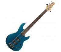 G&L L2500 FIVE STRINGS (Emerald Blue, rosewood) №CLF45360