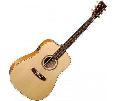 SIMON & PATRICK S&P 033553 - Showcase Flame Maple A6T with DLX TRIC Акустическая гитара