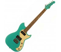 G&L FALLOUT (Belair Green, rosewood, 3-ply Creme). №CLF067627