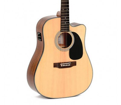 SIGMA DMC-1STE + (Fishman Presys II) Акустическая гитара