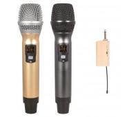 Беспроводная микрофонная система Emiter-S TA-U02 с ручными микрофонами