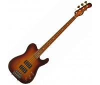 G&L ASAT BASS (3-Tone Sunburst, rosewood) №CLF067465
