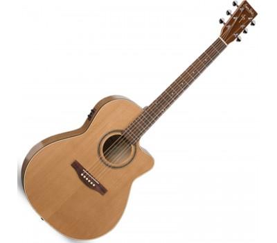 SIMON & PATRICK S&P 033744 - CW GT Folk Cedar EQ with Bag Акустическая гитара