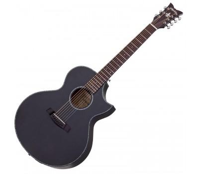 SCHECTER ORLEANS STAGE-7 SSTBLK Акустическая гитара с датчиком