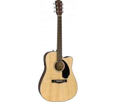 FENDER CD-60SCE NATURAL Акустическая гитара с датчиком