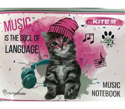 A5 Тетрадь для нот Cat P