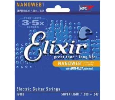 ELIXIR EL NW SL Струны для электрогитары