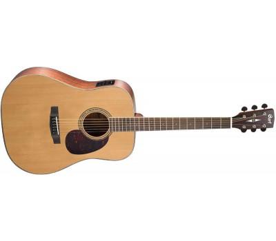 CORT Earth100F NS Акустическая гитара с датчиком
