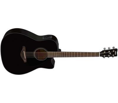 YAMAHA FGX800C BLK Акустическая гитара