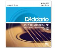 D'ADDARIO EJ16 Струны для акустической гитары
