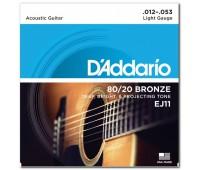 D'ADDARIO EJ11 Струны для акустической гитары