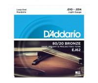 D'ADDARIO EJ62 Струны для банджо, мандолин