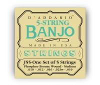 D'ADDARIO J55 Струны для банджо, мандолин
