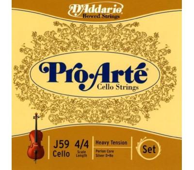 D`ADDARIO J59 4/4H Струны для виолончели